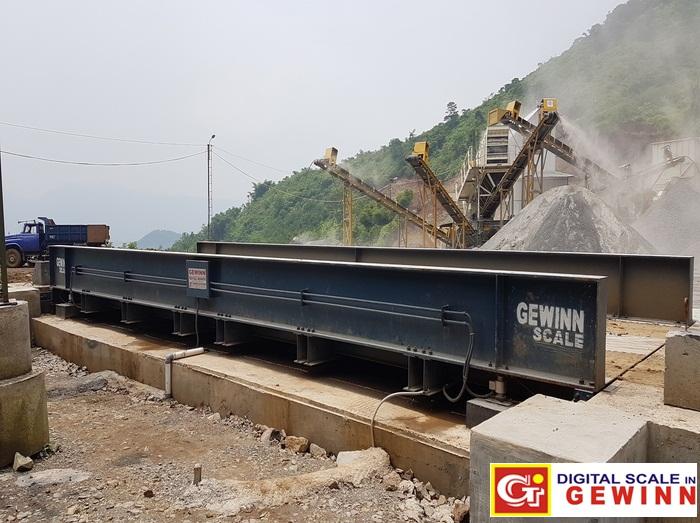 jembatan timbang tambang batu bara dan kuari