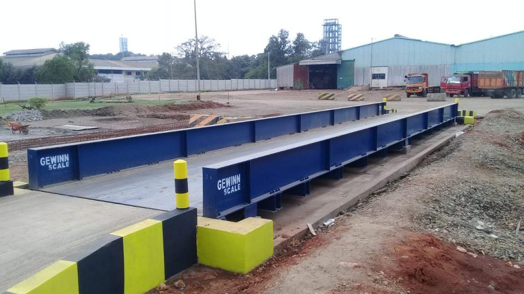 jembatan timbang 10 meter 30 40 50 60 80 ton